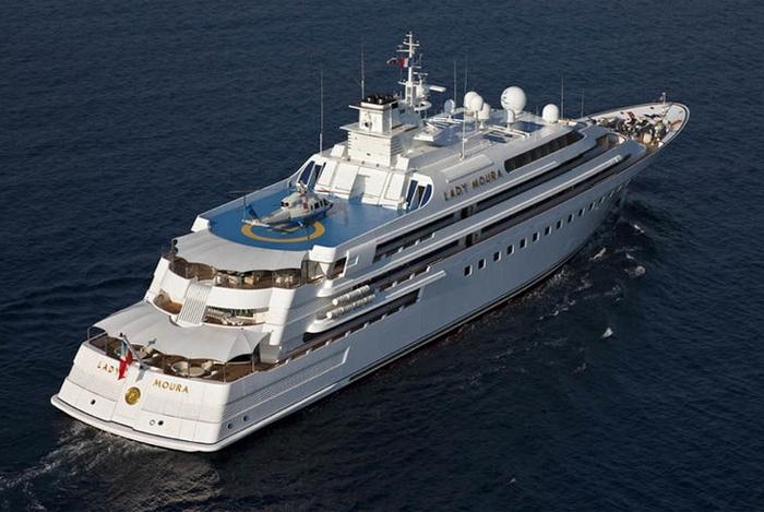 Самые дорогие в мире яхты