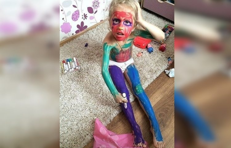 «Невинные» детские шалости: 50 самых смешных фото