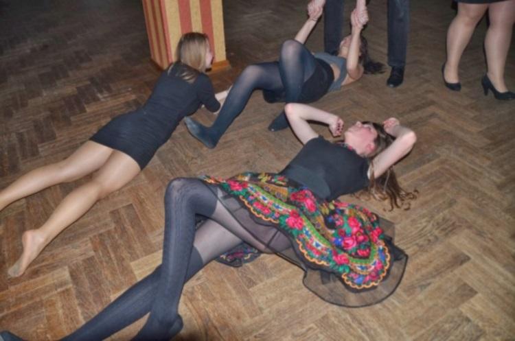 50 смешных фото с сельской дискотеки