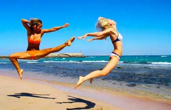 Пляжные курьезы: 45 самых смешных фейлов