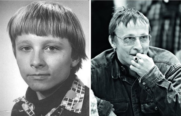 Фото российских звезд в детстве и сейчас